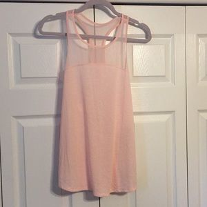 Women's NWT Old Navy active pink tank, size M